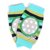 Happy Knees, Salt Water Taffy Stripe, Blue, Green, Gray
