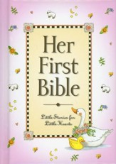 Her First Bible  - Slightly Imperfect