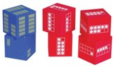 Ten Frame Foam Dice, set of 6