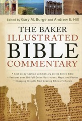 The Baker Illustrated Bible Commentary (slightly imperfect)
