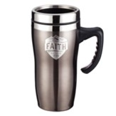 Faith, Stainless Steel Travel Mug