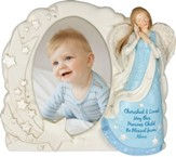 Angel Blessings Photo Frame, Boy