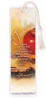 A Teacher is a Wonderful Influence Bookmark