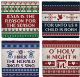 Christmas Sweater, Coaster Set