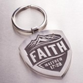Faith, Metal Keyring