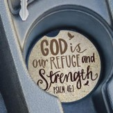 God Is Our Refuge and Strength, Car Coaster
