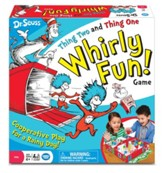 Dr. Seuss, Thing Two and Thing One Whirly Fun Game