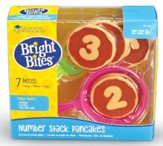 Bright Bites, Number Stack Pancakes