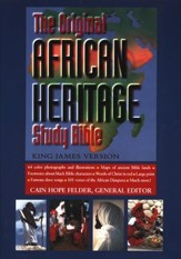 The KJV Original African Heritage Study Bible