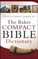 The Baker Compact Bible Dictionary - Slightly Imperfect