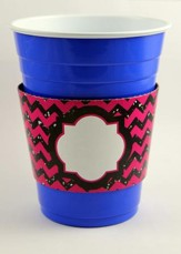 Sparkle Party Sleeves, Black and Pink