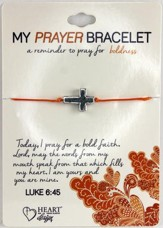 Prayer Bracelet, with Cross