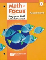 Math in Focus: The Singapore Approach Grade 1  Assessments