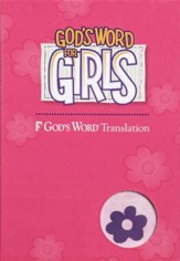 God's Word for Girls, Duravella Purple/Pink - Imperfectly Imprinted Bibles
