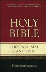 GOD'S WORD Personal-Size Giant-Print Bible