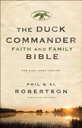 NKJV Duck Commander Faith & Family Bible, Hardcover - Imperfectly Imprinted Bibles