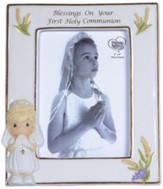Precious Moments, Blessings On Your First Holy Communion Photo Frame, Girl