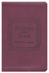 Prayers of the Bible: 366 Devotionals to Encourage Your Prayer Life, Imitation Leather Gift Edition