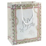 Gift Bag, Wedding Doves, Extra Large