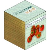 Ecofriendly Plant Cube, Indoor Grow Kit, Cherry Tomatoes