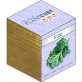 Ecofriendly Plant Cube, Indoor Grow Kit, Kale