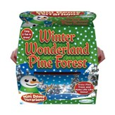 Winter Wonderland Pine Forest, Mini Dome Terrarium Kit