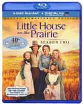 Little House on the Prairie: Season 2 - Deluxe Remastered Ed.,  Blu-ray/Digital HD Ultraviolet - Slightly Imperfect