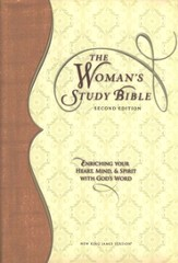 NKJV Woman's Study Bible, Second Edition, Hardcover - Slightly Imperfect