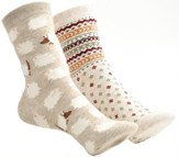 Sheep & Chevron Mix and Match Socks