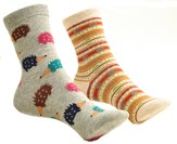 Tribal & Porcupine Mix and Match Socks