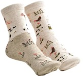 Barn Animals & Flowers Mix and Match Socks