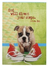 God Will Direct Your Steps, Puppy Notepad