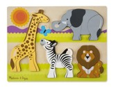 Chunky Jigsaw Puzzle, Safari, 20 pieces