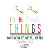 Key Earrings, Psalm 46:5