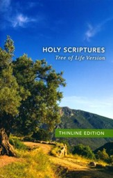 TLV Thinline Bible, Holy Scriptures, Softcover - Slightly Imperfect
