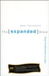 The Expanded Bible - New Testament Softcover - Slightly Imperfect