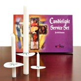 Complete Candlelight Service Set for 125 People