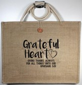 Grateful Heart, Tote Bag