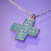 Byzantine ZOH, Sterling Silver Cross Necklace