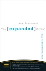 The Expanded Bible, New Testament Hardcover - Slightly Imperfect