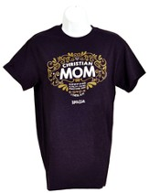Christian Mom Shirt, Deep Purple,   XX-Large