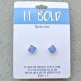 Be Bold Earrings, Blue
