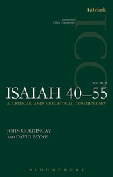 Isaiah 40-55, Vol 2: International Critical Commentary [ICC]