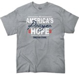 America's Prayer, Hope Shirt, Gray, Large
