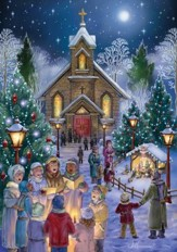 Midnight Mass Christmas Cards , 18 Cards