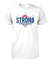 Be Strong Shirt, White, Large