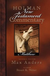 Matthew, Holman New Testament Commentary  Volume 1 - Slightly Imperfect