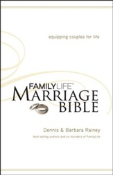 NKJV Familylife Marriage Bible: Equipping Couples for Life - Hardcover