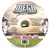 MEGA Sports Camp: Cheer Music CD