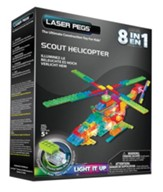 Scout Helicopter Laser Model, 8 in 1